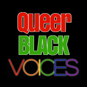 Queer Black Voices logo.